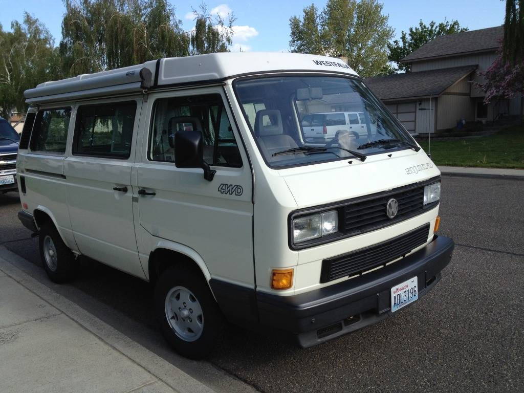 VW Syncro Westfalia - Build Log with Pics 149