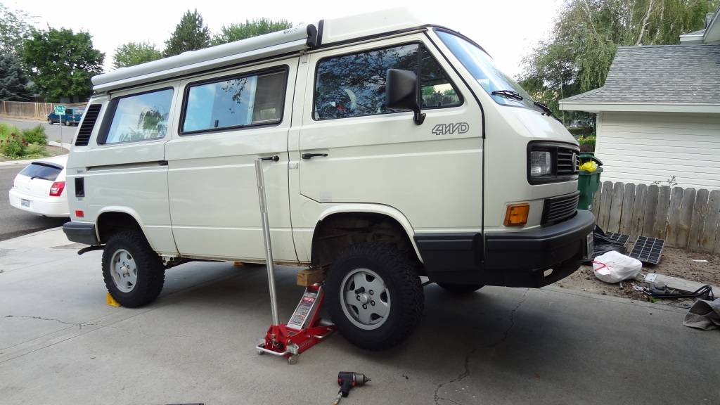 VW Syncro Westfalia - Build Log with Pics DSC07594