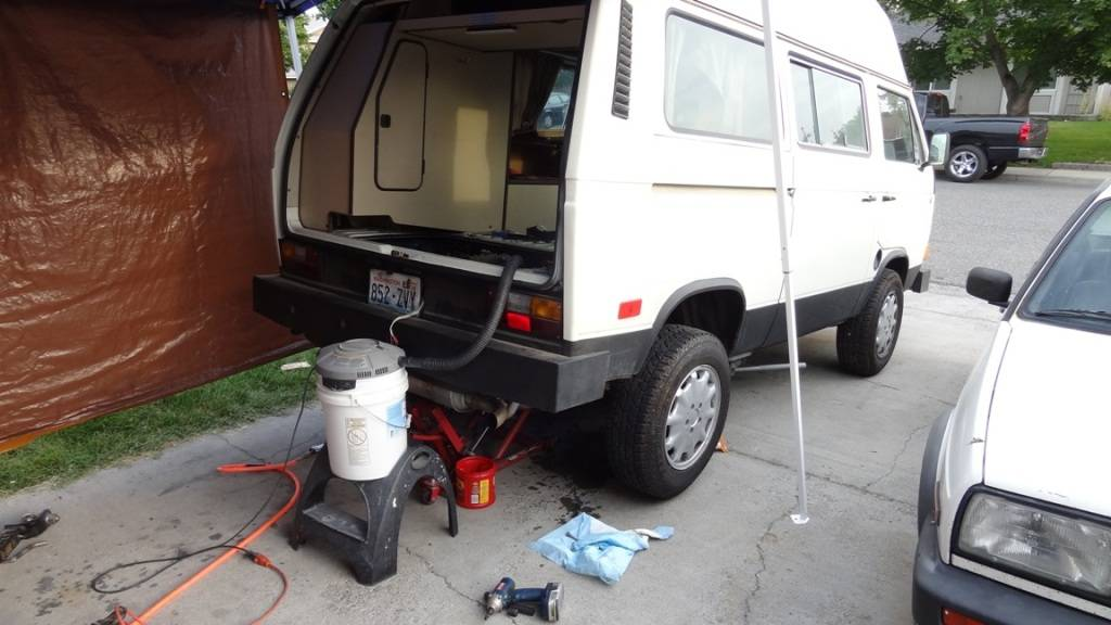 VW Syncro Westfalia - Build Log with Pics DSC09190
