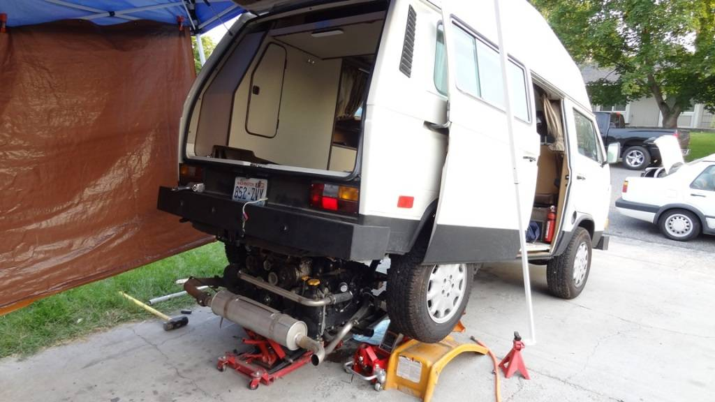 VW Syncro Westfalia - Build Log with Pics DSC09217