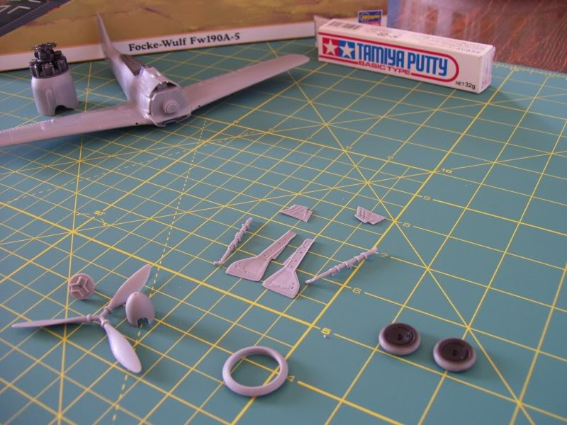 Focke Wulf 190 A-5 Walter N. Hasegawa 1/48 (Terminado) Avances7-1