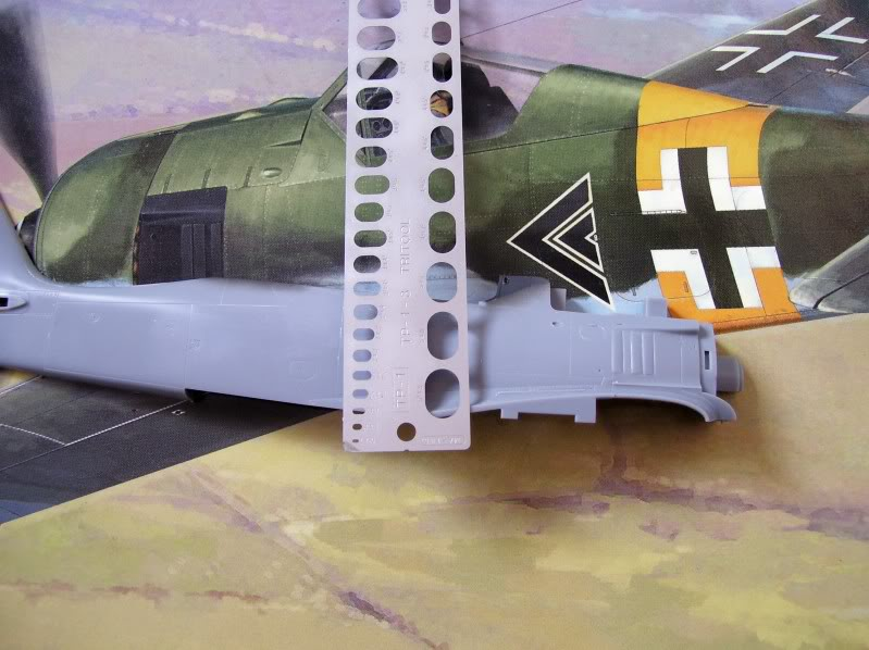 Focke Wulf 190 A-5 Walter N. Hasegawa 1/48 (Terminado) AvancesMartes3