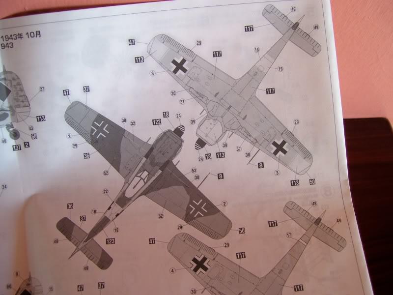 Focke Wulf 190 A-5 Walter N. Hasegawa 1/48 (Terminado) FockeA56