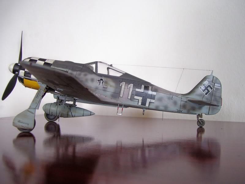 Focke Wulf 190 A-6 Hasegawa 1/48 Georg Schott JG-1 FockeA6Terminado1