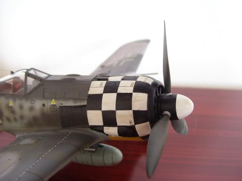 Focke Wulf 190 A-6 Hasegawa 1/48 Georg Schott JG-1 FockeA6Terminado10