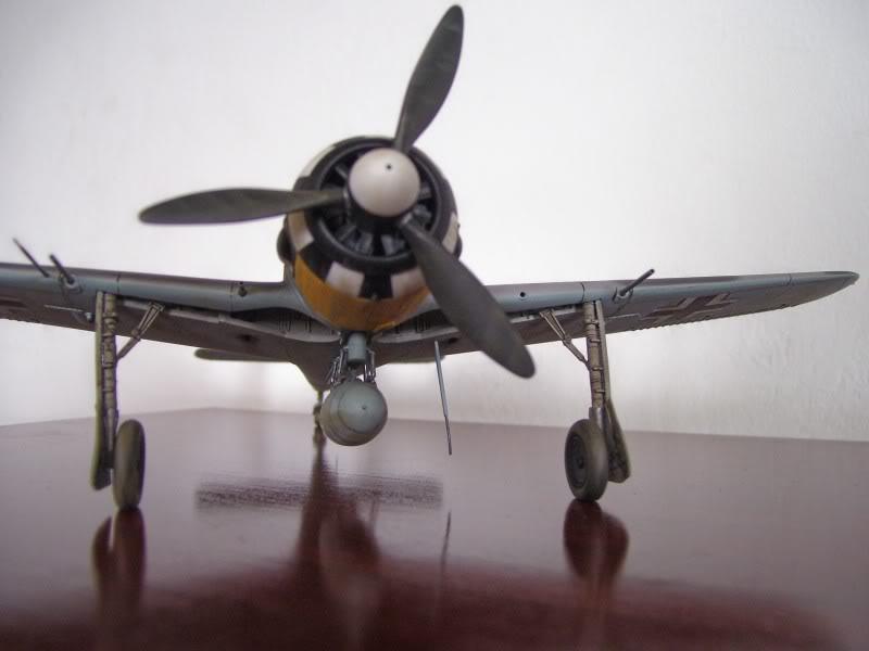 Focke Wulf 190 A-6 Hasegawa 1/48 Georg Schott JG-1 FockeA6Terminado14