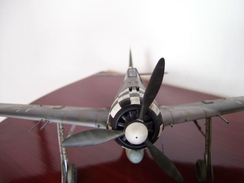 Focke Wulf 190 A-6 Hasegawa 1/48 Georg Schott JG-1 FockeA6Terminado15