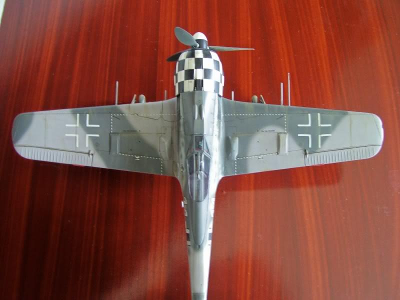 Focke Wulf 190 A-6 Hasegawa 1/48 Georg Schott JG-1 FockeA6Terminado16