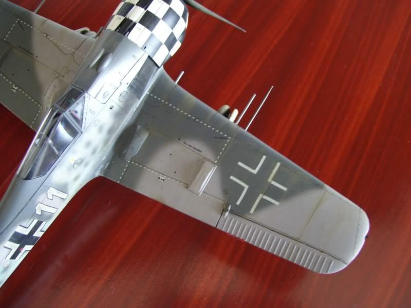 Focke Wulf 190 A-6 Hasegawa 1/48 Georg Schott JG-1 FockeA6Terminado18