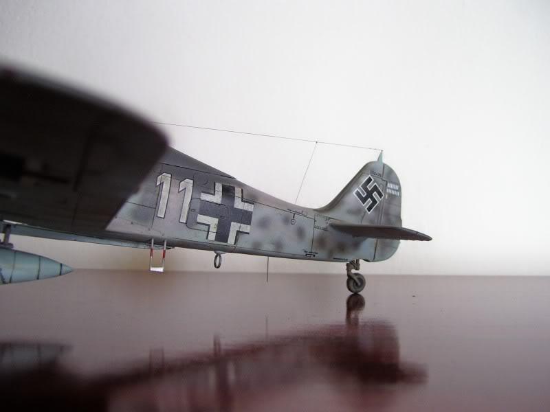 Focke Wulf 190 A-6 Hasegawa 1/48 Georg Schott JG-1 FockeA6Terminado2