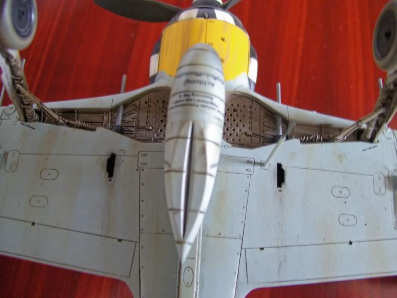 Focke Wulf 190 A-6 Hasegawa 1/48 Georg Schott JG-1 FockeA6Terminado20