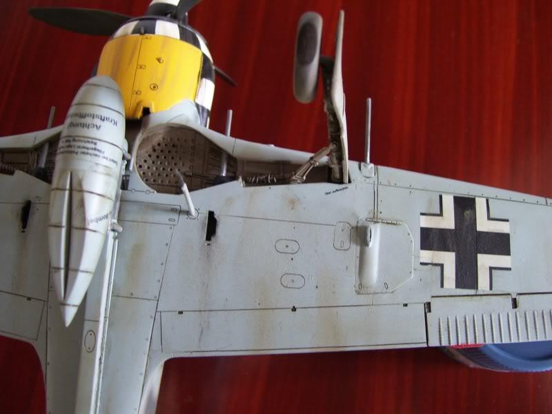 Focke Wulf 190 A-6 Hasegawa 1/48 Georg Schott JG-1 FockeA6Terminado21