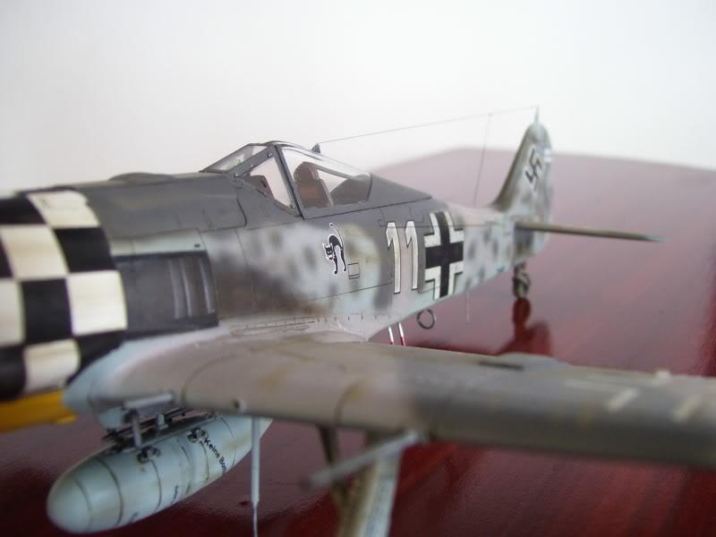 Focke Wulf 190 A-6 Hasegawa 1/48 Georg Schott JG-1 FockeA6Terminado23