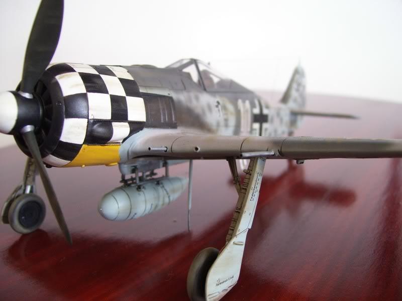 Focke Wulf 190 A-6 Hasegawa 1/48 Georg Schott JG-1 FockeA6Terminado24