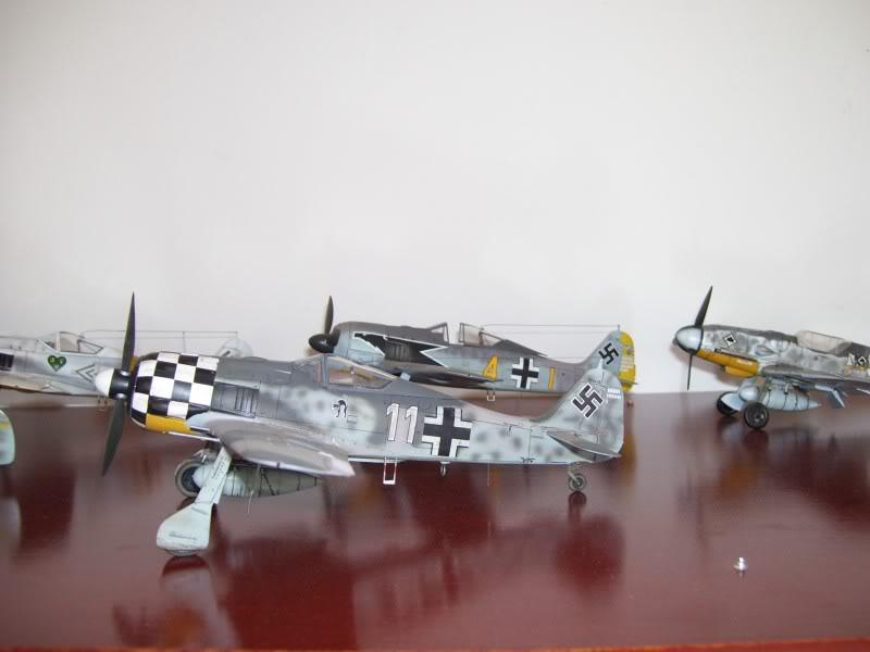 Focke Wulf 190 A-6 Hasegawa 1/48 Georg Schott JG-1 FockeA6Terminado25