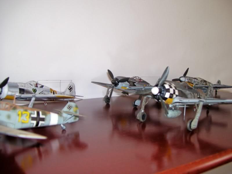 Focke Wulf 190 A-6 Hasegawa 1/48 Georg Schott JG-1 FockeA6Terminado26