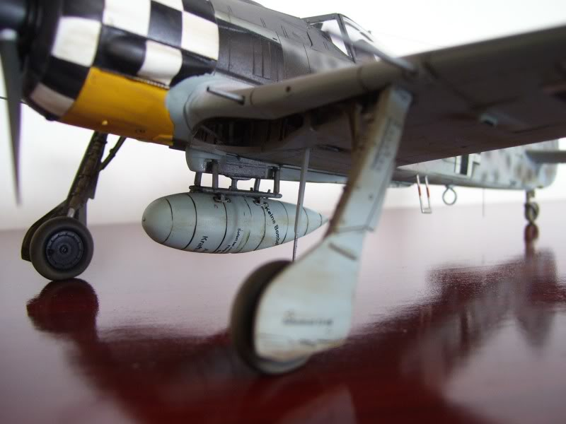 Focke Wulf 190 A-6 Hasegawa 1/48 Georg Schott JG-1 FockeA6Terminado3