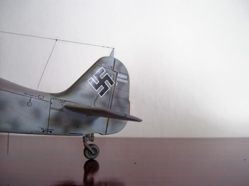 Focke Wulf 190 A-6 Hasegawa 1/48 Georg Schott JG-1 FockeA6Terminado4