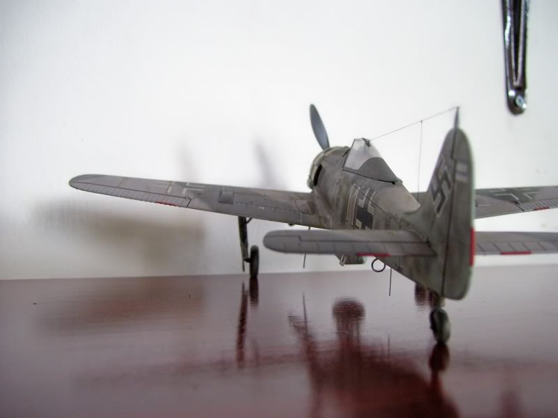 Focke Wulf 190 A-6 Hasegawa 1/48 Georg Schott JG-1 FockeA6Terminado5