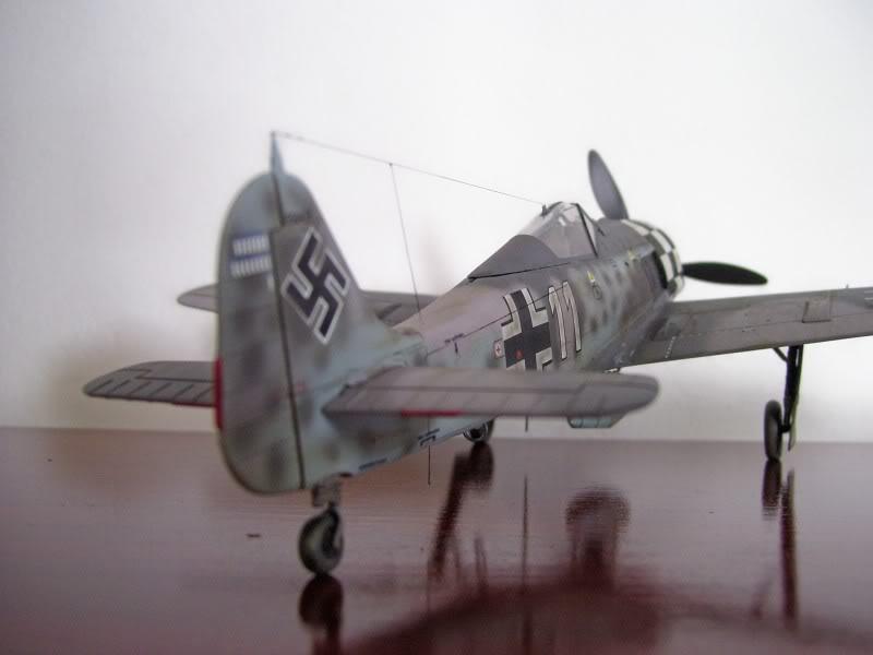 Focke Wulf 190 A-6 Hasegawa 1/48 Georg Schott JG-1 FockeA6Terminado6