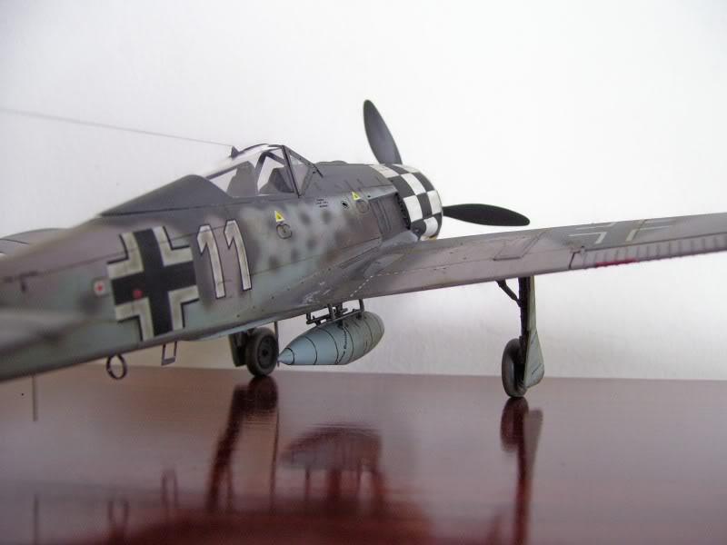 Focke Wulf 190 A-6 Hasegawa 1/48 Georg Schott JG-1 FockeA6Terminado7