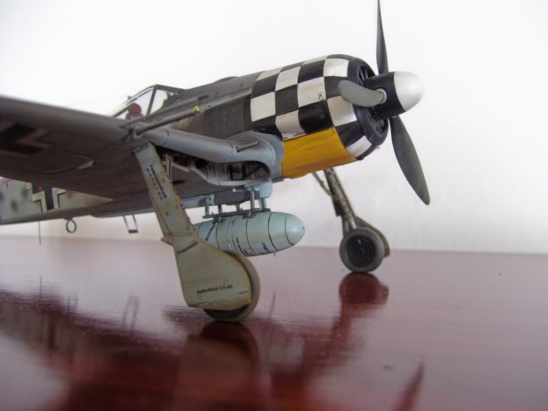 Focke Wulf 190 A-6 Hasegawa 1/48 Georg Schott JG-1 FockeA6Terminado8