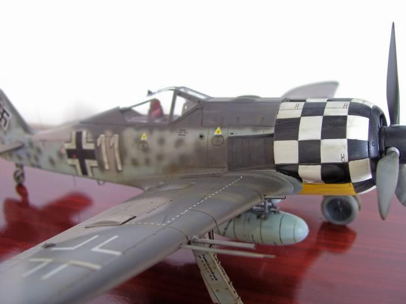 Focke Wulf 190 A-6 Hasegawa 1/48 Georg Schott JG-1 FockeA6Terminado9