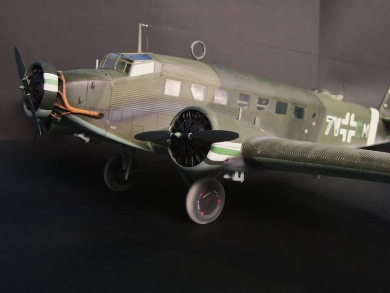 Junkers Ju 52/3m g 4e Revell 1/48 Ju52%206