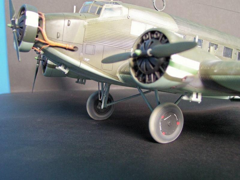 Junkers Ju 52/3m g 4e Revell 1/48 Ju52%207