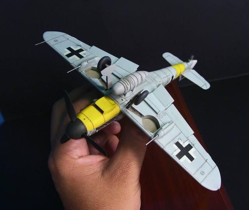 Messerschmitt Bf 109 G-6/R6 Hasegawa 1/48 Anton Hackl. Me109G6%2014_1