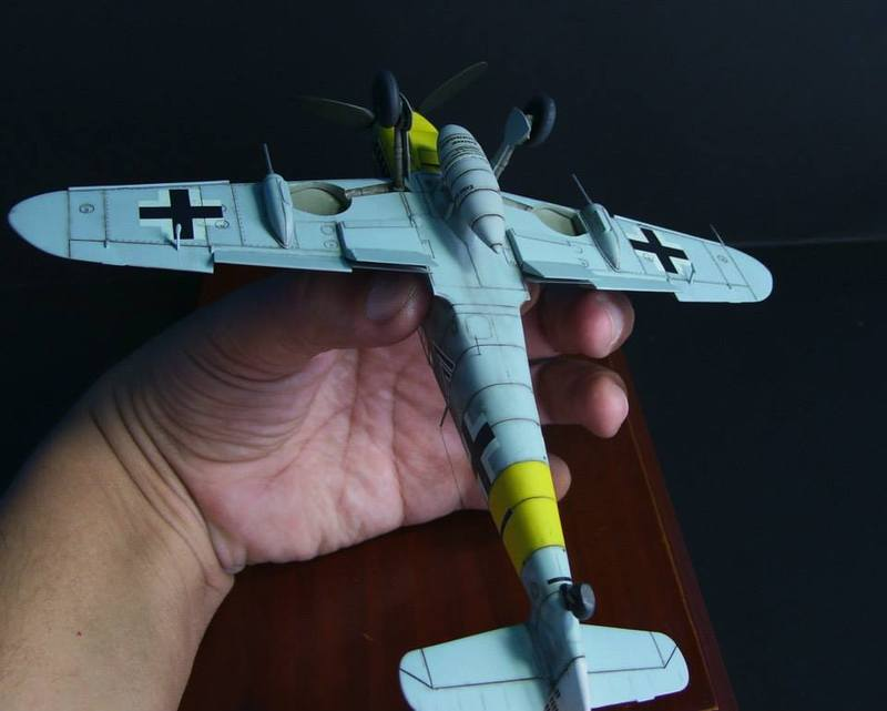 Messerschmitt Bf 109 G-6/R6 Hasegawa 1/48 Anton Hackl. Me109G6%2015_1