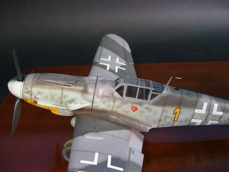 Messerschmitt Bf 109 G-6 (Hasegawa 1/48). Me109G6%206