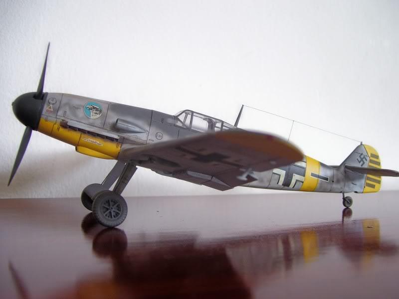 Hasegawa 1/48 Messerschmitt Bf 109 F-2 (Restaurado) Molders1