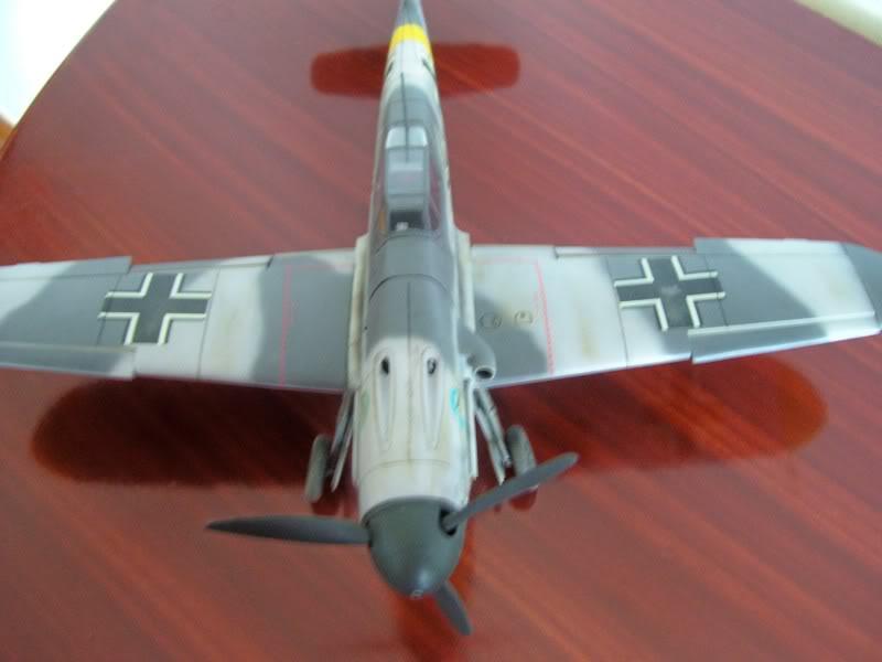 Hasegawa 1/48 Messerschmitt Bf 109 F-2 (Restaurado) Molders11