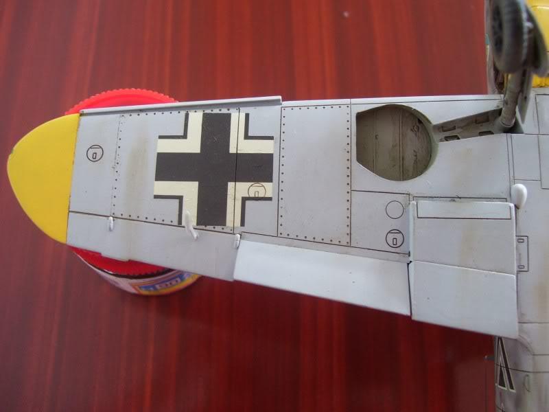 Hasegawa 1/48 Messerschmitt Bf 109 F-2 (Restaurado) Molders12