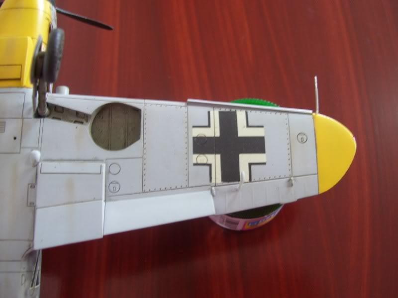 Hasegawa 1/48 Messerschmitt Bf 109 F-2 (Restaurado) Molders13
