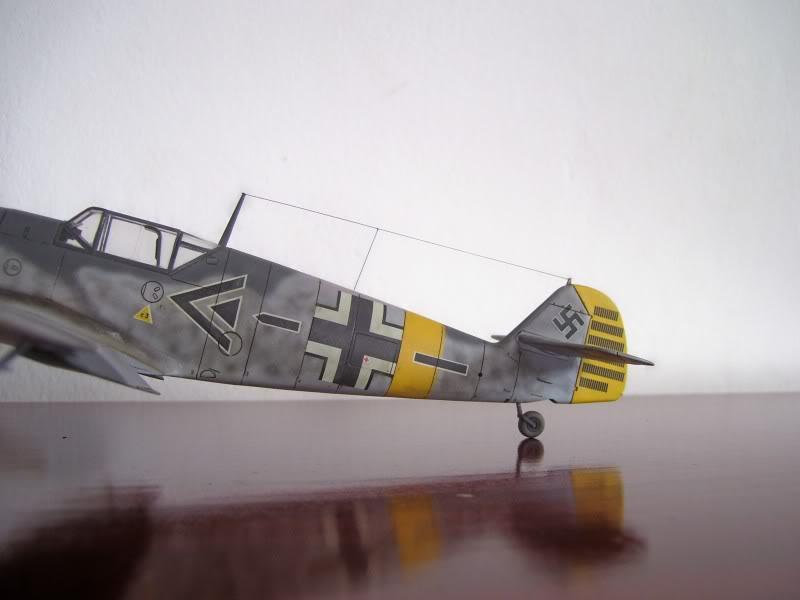 Hasegawa 1/48 Messerschmitt Bf 109 F-2 (Restaurado) Molders2