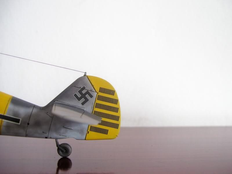 Hasegawa 1/48 Messerschmitt Bf 109 F-2 (Restaurado) Molders3
