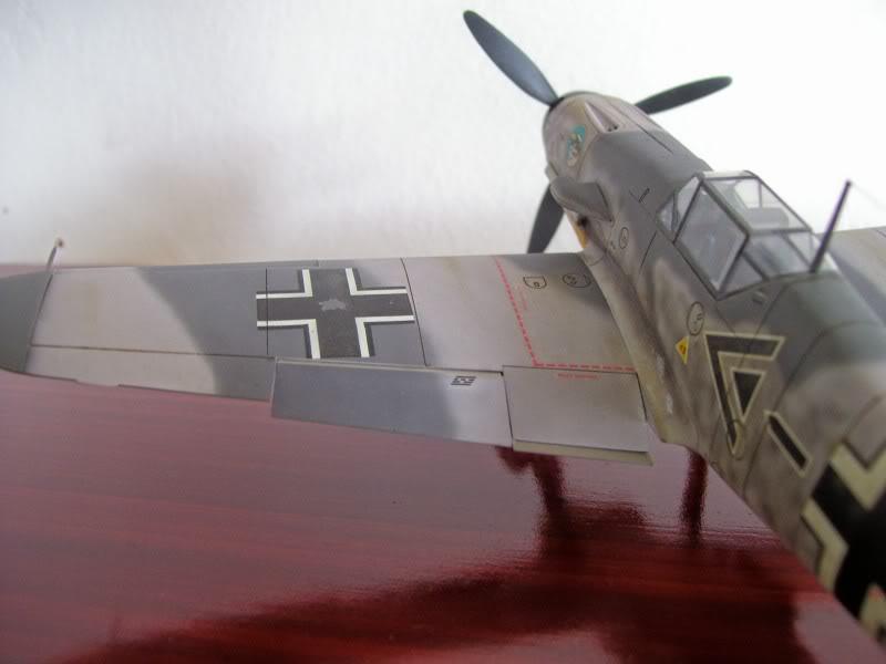Hasegawa 1/48 Messerschmitt Bf 109 F-2 (Restaurado) Molders4