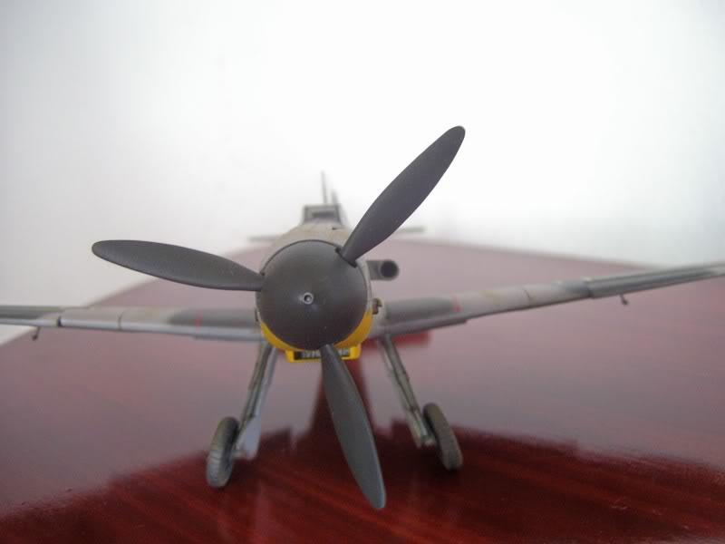 Hasegawa 1/48 Messerschmitt Bf 109 F-2 (Restaurado) Molders8