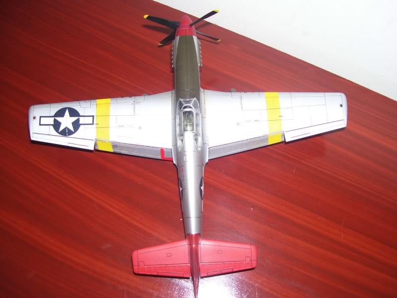 North American P-51 B 332 Tuskeege Tamiya 1/48 Mustang10