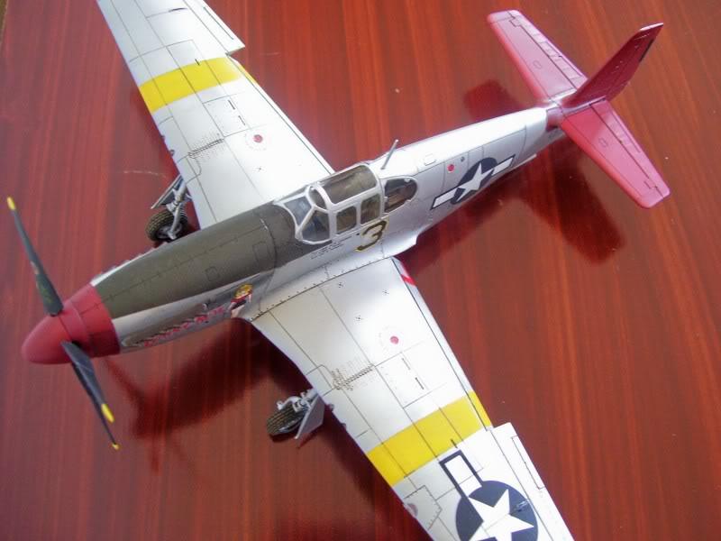 North American P-51 B 332 Tuskeege Tamiya 1/48 Mustang11