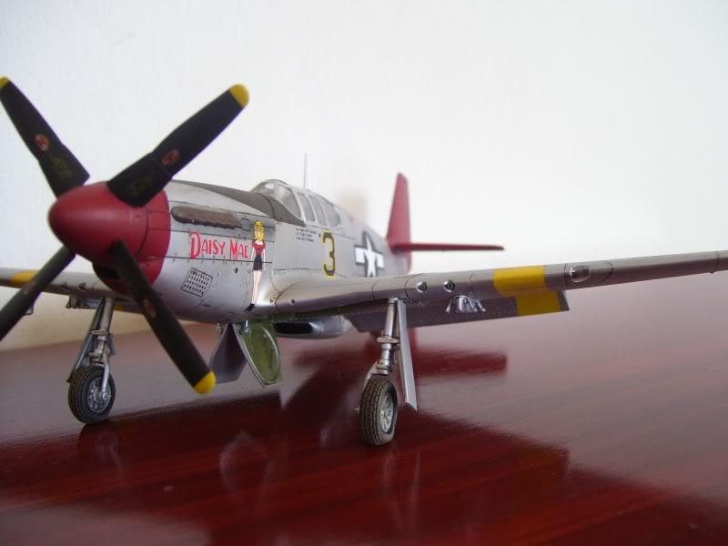 North American P-51 B 332 Tuskeege Tamiya 1/48 Mustang14
