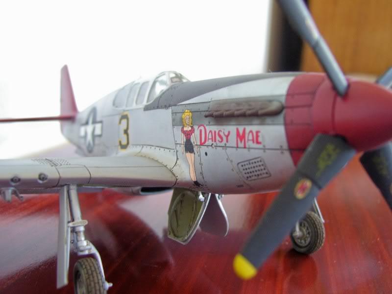 North American P-51 B 332 Tuskeege Tamiya 1/48 Mustang16