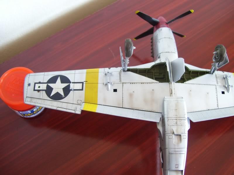 North American P-51 B 332 Tuskeege Tamiya 1/48 Mustang17