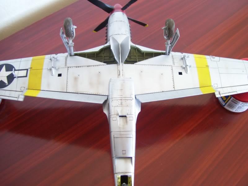 North American P-51 B 332 Tuskeege Tamiya 1/48 Mustang20