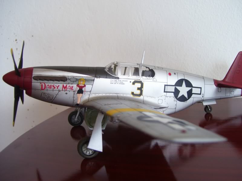 North American P-51 B 332 Tuskeege Tamiya 1/48 Mustang22