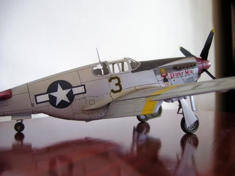North American P-51 B 332 Tuskeege Tamiya 1/48 Mustang3-1