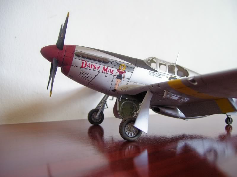 North American P-51 B 332 Tuskeege Tamiya 1/48 Mustang4-1