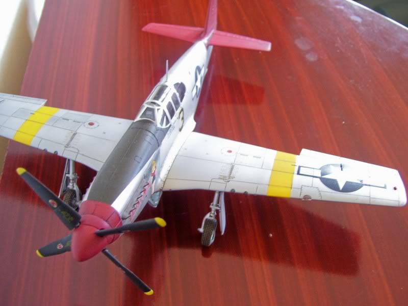 North American P-51 B 332 Tuskeege Tamiya 1/48 Mustang6-1